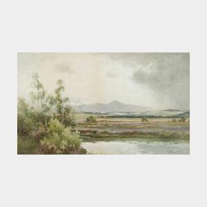 Thomas Bunting (British, 19th/20th Century)  Mountain View