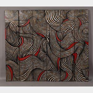Sold for: $8,888 - Karl Springer Coromandel Screen