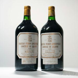 Chateau Pichon Lalande 1982, 2 double magnums