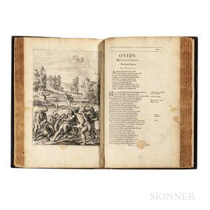Ovid (43 BC-17/18 AD) trans. George Sandys (1578-1644) Metamorphosis Englished, Mythologiz'd, and Represented in Figures.