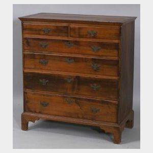 Chippendale Rhode Island Maple Chest of Drawers