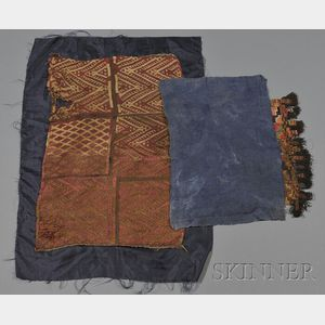 Two Pre-Columbian Textiles