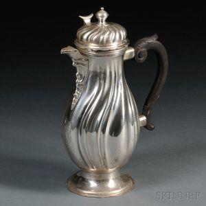 German Silver Coffeepot