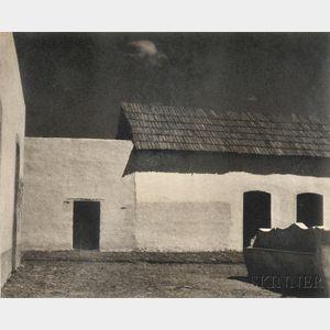 Paul Strand (American, 1890-1976)      Plaza, State of Puebla