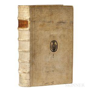Briet, Philippe (1601-1668) Annales Mundi sive Chronicon Universale.