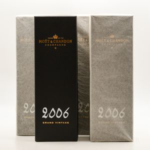 Moet & Chandon 2006, 4 bottles (ind. pc)