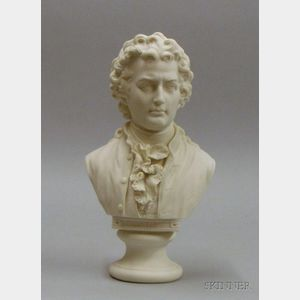 Bisque Bust of Goethe