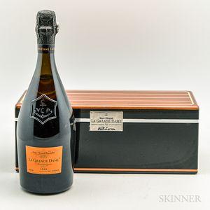 Veuve Clicquot La Grande Dame 1998, 1 bottle (ogb)