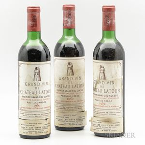 Chateau Latour 1962, 3 bottles