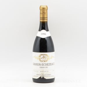 Mongeard Mugneret Grands Echezeaux 1996, 1 bottle