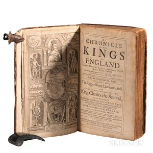 Baker, Sir Richard (1568-1645) A Chronicle of the Kings of England.