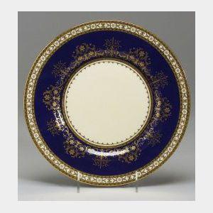 Twelve Mintons Bone China Service Plates