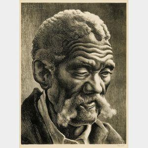 Thomas Hart Benton (American, 1889-1975)      Aaron