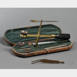 Brass Naturalist Microscope