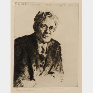 Frank Weston Benson (American, 1862-1951)      Portrait
