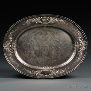 Black, Starr & Frost Sterling Silver Serving Tray
