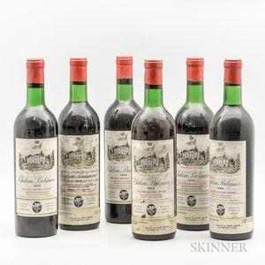 Chateau Belgrave 1966, 6 bottles