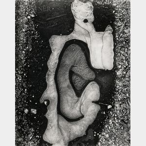 Brett Weston (American, 1911-1993)      Ice Forms, California