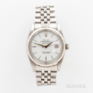 Rolex Stainless Steel Reference 6605 Wristwatch