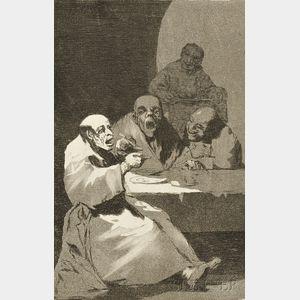 Francisco de Goya (Spanish, 1746-1828)      Estan Calientes