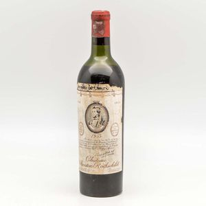 Chateau Mouton Rothschild 1953, 1 bottle