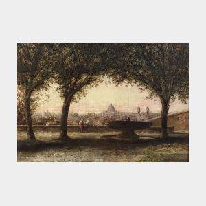 John Linton Chapman (American, 1839-1905)  Rome