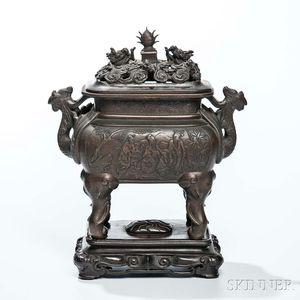 Bronze Covered Censer