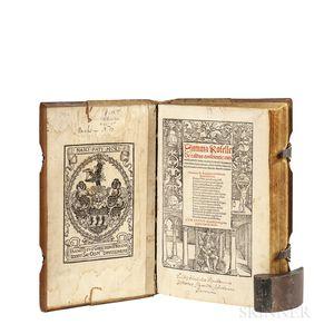 Baptista Trovamala [aka] Baptista de Salis (dates unknown) ed. Ottmar Luscinius [aka] Nachtgall (1478-1537) Summa Roselle de Casius Con