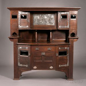 English Arts & Crafts Cupboard