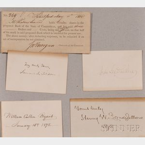 (Autographs, 19th Century)