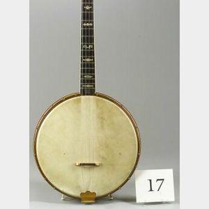 American Tenor Banjo, The Gibson Mandolin-Guitar Company, Kalamazoo, c. 1926, Model   Style TB-5