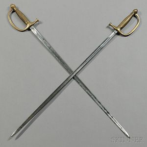 Two Model 1840 Musician's Swords