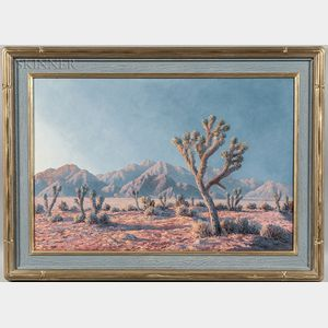 John William Hilton (American, 1904-1983)      High Desert Sunshine