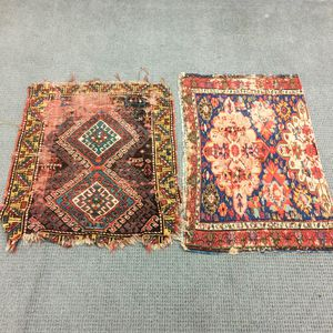 Northwest Persian Rug and a Soumak Fragment