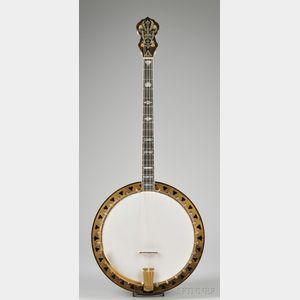 American Tenor Banjo,The Vega Company, Boston,  c. 1927, Artist Model
