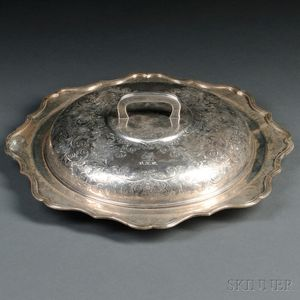 Sterling Silver Platter with Lid