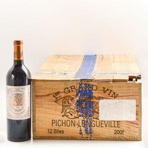 Chateau Pichon Baron 2005, 11 bottles