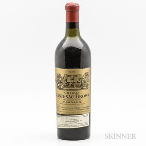 Chateau Cantenac Brown 1900, 1 bottle