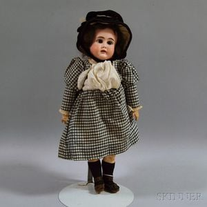 Kestner Open Mouth Bisque Socket Head Doll
