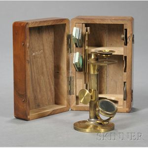 Brass Simple Microscope