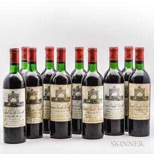 Chateau Leoville Las Cases 1970, 10 bottles