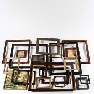 Group of Wooden and Parcel-gilt Frames