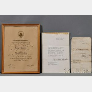 American Presidents, Four Documents:
