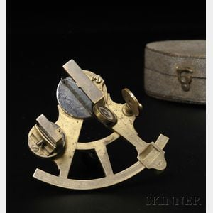 Miniature Brass Sextant