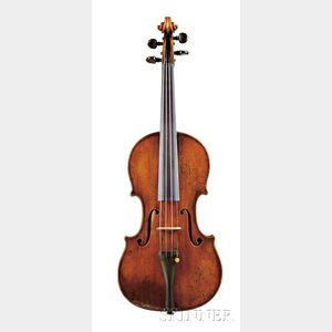 Sold for: $168,000 - Fine Italian Violin, Nicolaus Gagliano, Naples, 1720