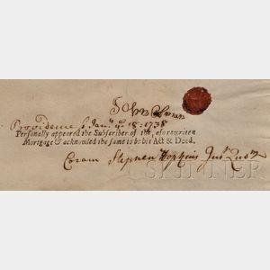 Hopkins, Stephen, (1707-1785), Signer from Rhode Island
