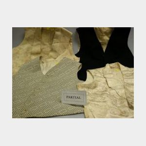 Group of 19th and 20th Century Men's Clothing