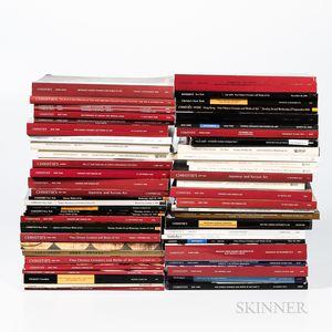 Fifty-seven Asian Art Catalogs