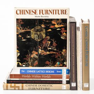 Eleven Reference Books on Chinese Furniture