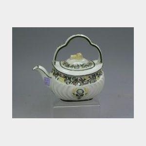 Wedgwood Majolica Teapot.